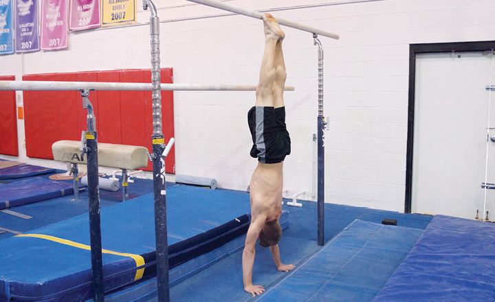 Chinese Handstand End