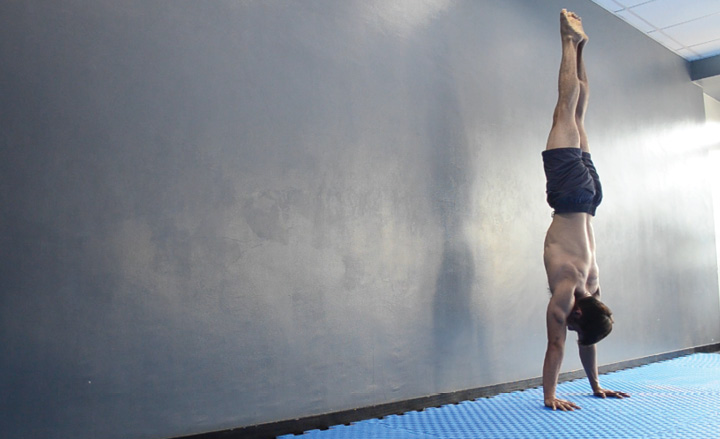 Partial Wall Handstand Rep End