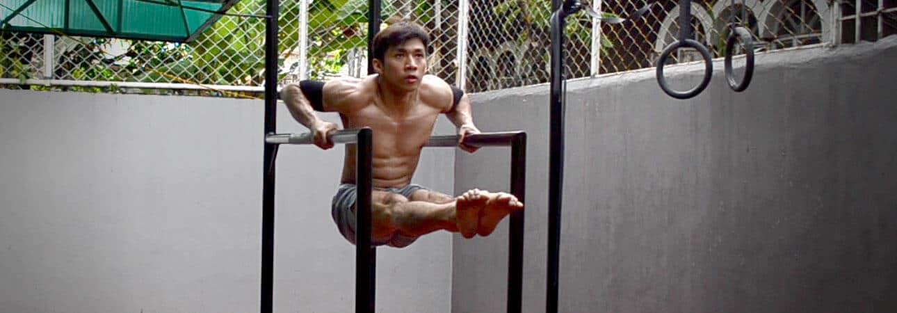 GymnasticBodies Russian Dip builds amazing muscle-up strength.