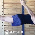 GymnasticBodies athlete demonstrates how aging does not need to lessen mobility and strength with a back lever on rings.