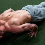 GymnasticBodies athlete demonstrates upper control and strength with a pseudo planche push-up.