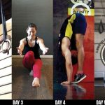 GymnasticBodies works best with a consistent schedule, assuring you focus on a well-rounded body routine.
