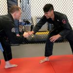 GymnasticBodies athlete uses his strength and flexibility gains in other activities, such as Brazilian Jiu-Jitsu.
