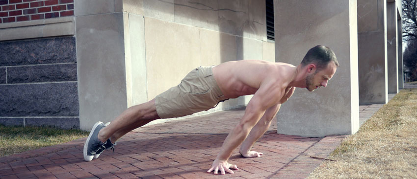 Christopher Sommer's GB Athlete shows a planche lean with tempo.