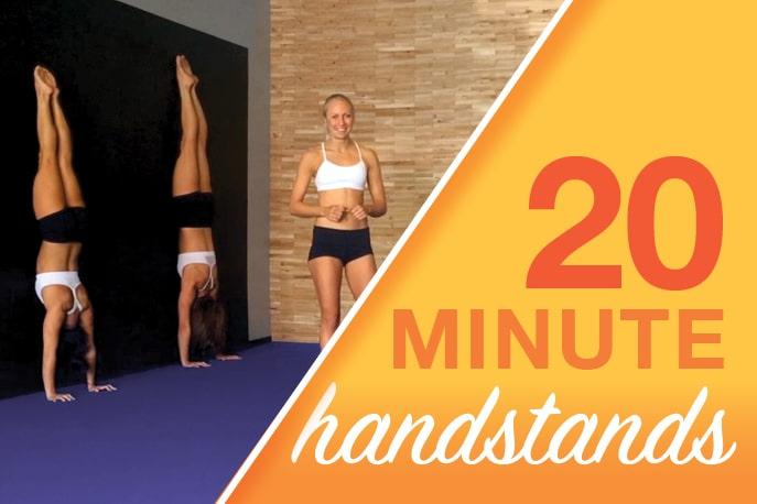 20 Minute Handstands