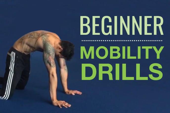 Beginner Mobility Drills