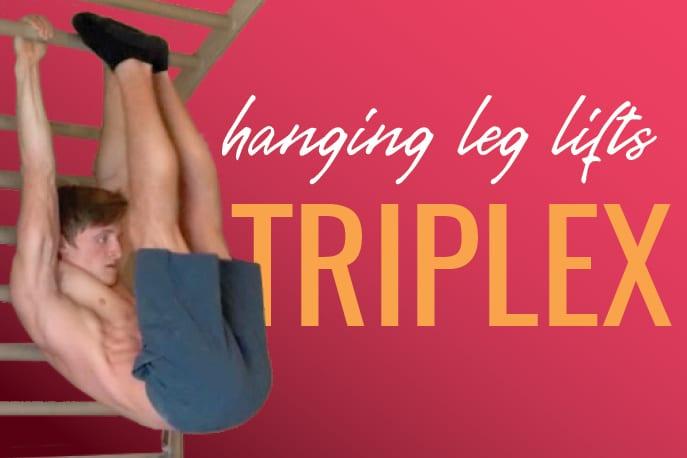 Hanging Leg Lifts Triplex