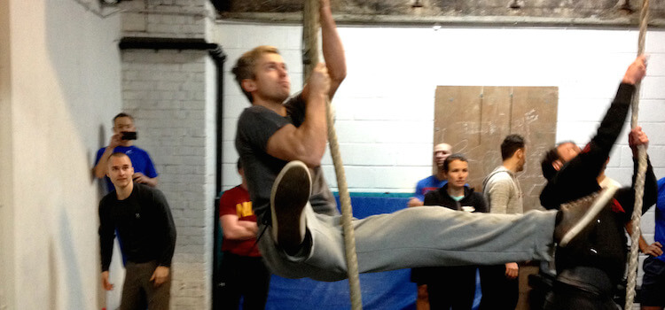 GymnasticBodies Rope Climb