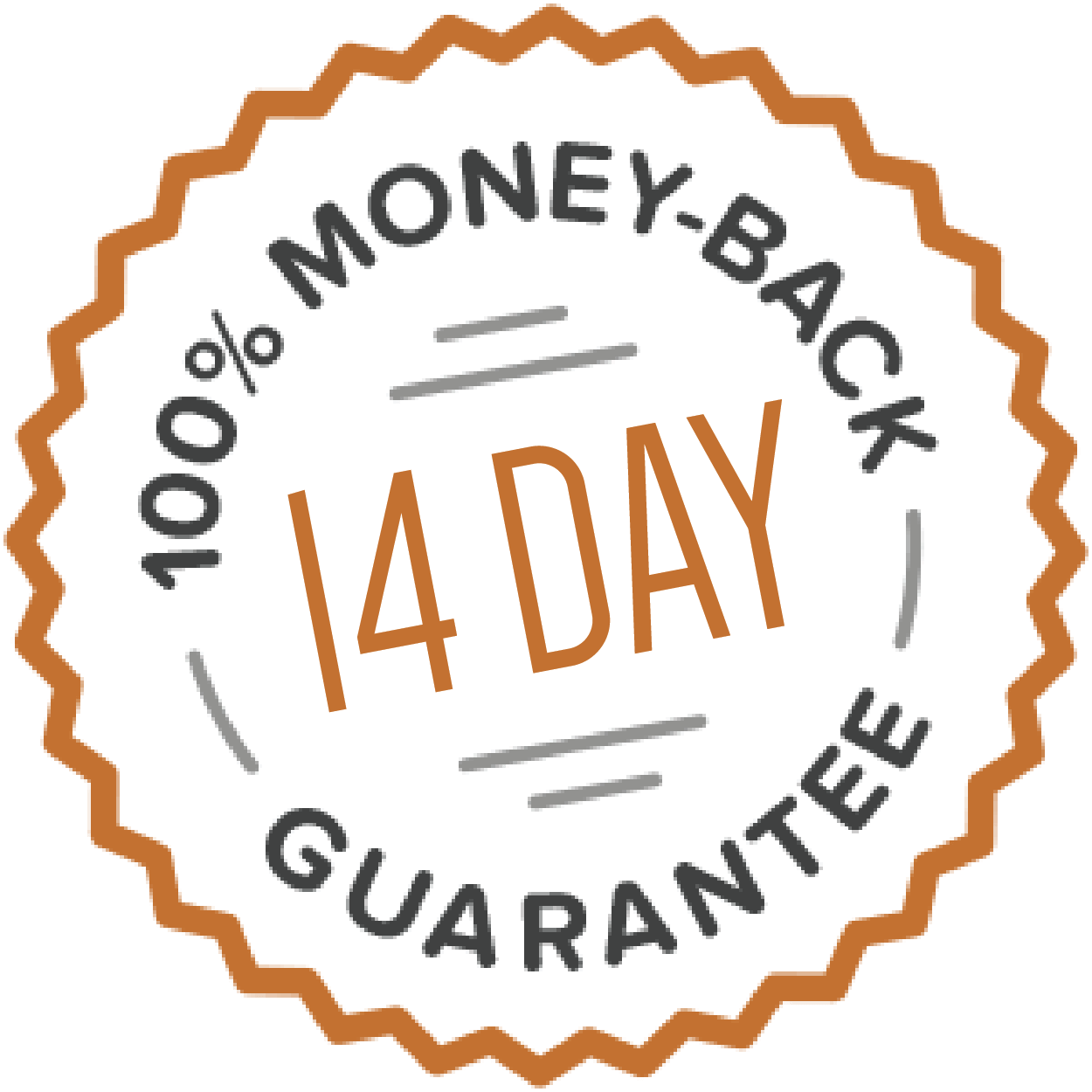 GymnasticBodies 100% 14 day money-back guarantee