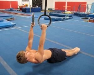 Ring Rows Build Bodyweight Strength for Rope Climbing