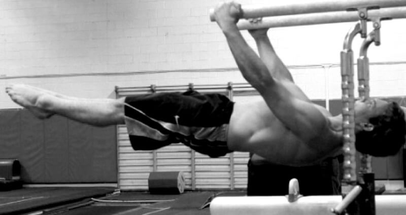 One Of The Best Exercises For Your Abs In Front Lever Demonstrated By Gymnasts At