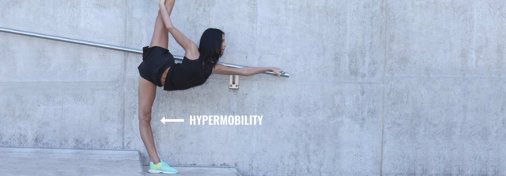 Hypermobile joints need to be strengthened with care.