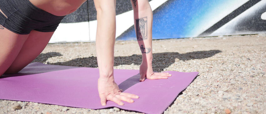 Christopher Sommer's GymnasticBodies athlete takes care of her wrists and forearms for climbing training and prehab.